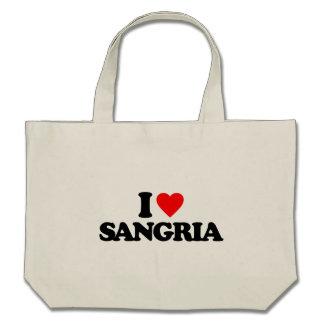 I LOVE SANGRIA BAG
