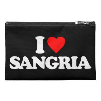 I LOVE SANGRIA TRAVEL ACCESSORY BAG