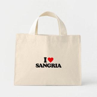 I LOVE SANGRIA BAGS