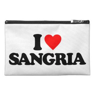 I LOVE SANGRIA TRAVEL ACCESSORIES BAGS