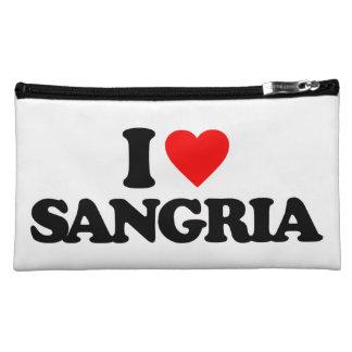 I LOVE SANGRIA MAKEUP BAG