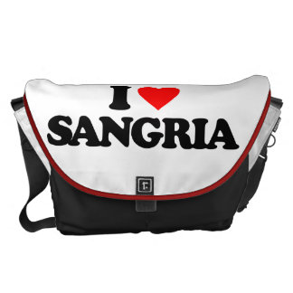 I LOVE SANGRIA COURIER BAGS