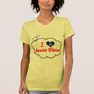 I Love Santa Clara New York Tshirts