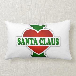 I Love Santa Claus Cushions