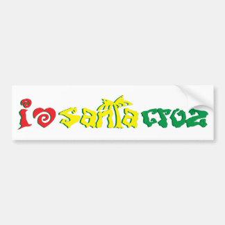 i Love Santa Cruz Bumper Sticker