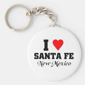 I love Santa Fe, New Mexico Key Chains