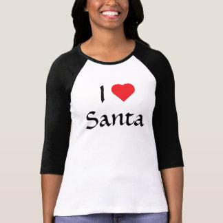 I Love Santa Tshirt