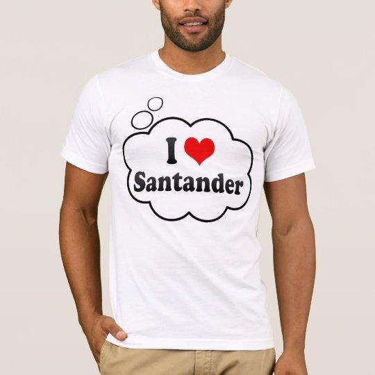 I Love Santander, Spain T-Shirt
