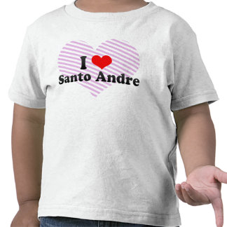 I Love Santo Andre, Brazil Tshirt