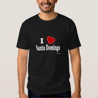 I Love Santo Domingo Shirt