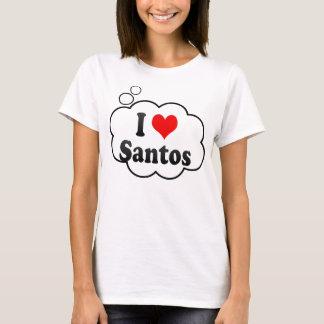 I Love Santos, Brazil. Eu Amo O Santos, Brazil T-Shirt