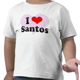 I Love Santos, Brazil. Eu Amo O Santos, Brazil T-shirts