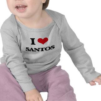 I Love Santos Shirt