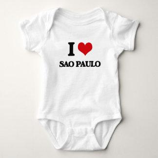 I love Sao Paulo Baby Bodysuit