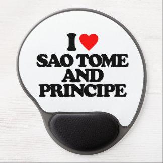 I LOVE SAO TOME AND PRINCIPE GEL MOUSE PAD