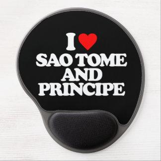 I LOVE SAO TOME AND PRINCIPE GEL MOUSEPAD