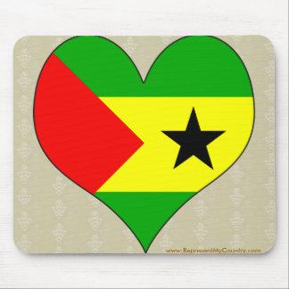 I Love Sao Tome And Principe Mouse Pad