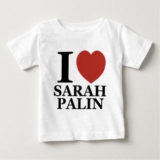 I Love Sarah Palin Baby T-Shirt