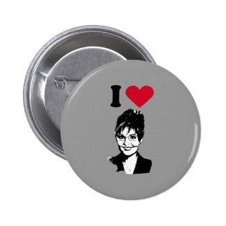 I LOVE SARAH PALIN PINS