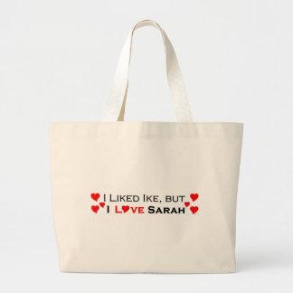 I Love Sarah Palin Canvas Bag