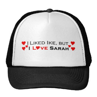 I Love Sarah Palin Cap