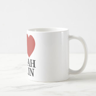 I Love Sarah Palin Coffee Mug