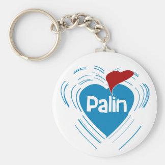 I Love Sarah Palin Keychain
