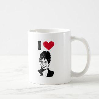 I Love Sarah Palin Coffee Mugs