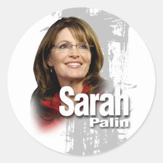 I love Sarah Palin Round Sticker
