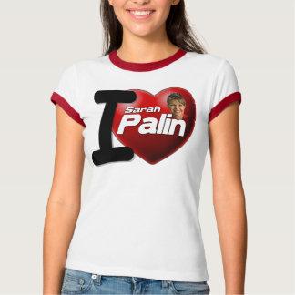 I Love Sarah Palin Tee Shirts