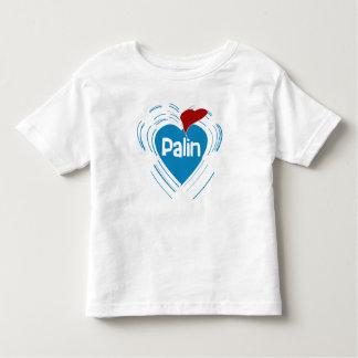 I Love Sarah Palin Toddler T-shirt