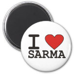I Love Sarma Magnets