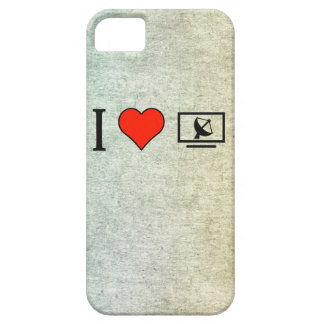 I Love Satellite Television Barely There iPhone 5 Case