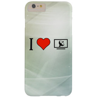 I Love Satellite Television Barely There iPhone 6 Plus Case