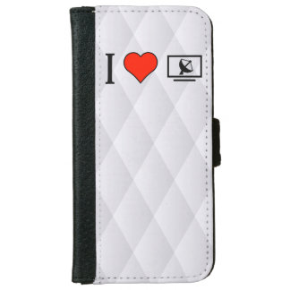 I Love Satellite Television iPhone 6 Wallet Case