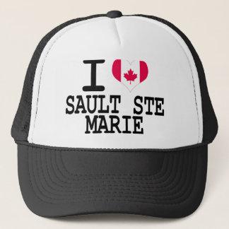 I love Sault Ste Marie Trucker Hat