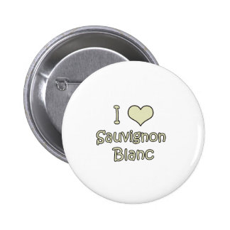 I Love Sauvignon Blanc 6 Cm Round Badge