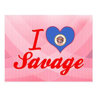 I Love Savage, Minnesota Postcards