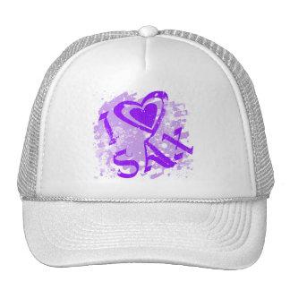 I LOVE SAX HAT