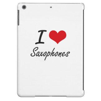 I Love Saxophones iPad Air Covers