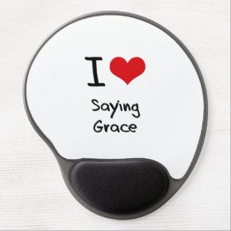I Love Saying Grace Gel Mouse Pad