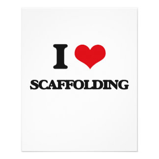 I Love Scaffolding Flyers