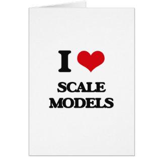I Love Scale Models Card
