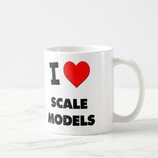 I Love Scale Models Mugs