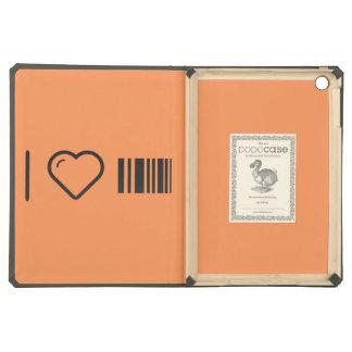I Love Scanning Barcodes iPad Air Case