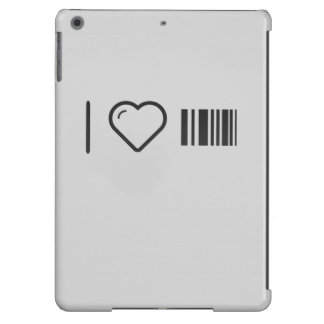 I Love Scanning Barcodes iPad Air Cases