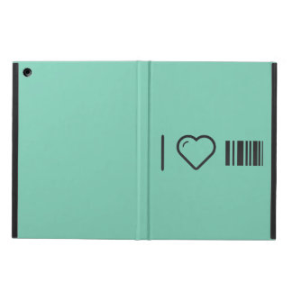 I Love Scanning Barcodes iPad Air Covers