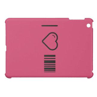 I Love Scanning Barcodes iPad Mini Cover