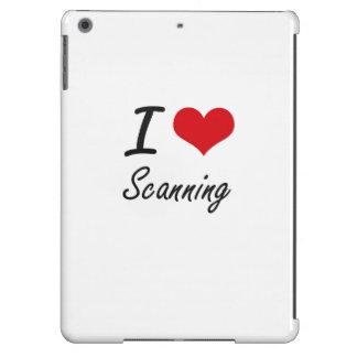 I Love Scanning iPad Air Cases