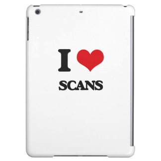 I Love Scans Cover For iPad Air